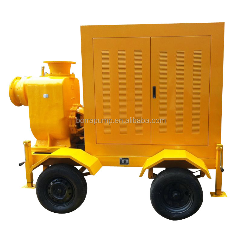 Factory Sale 6 inch Diesel Engine Agricultural Irrigation Water Pump
