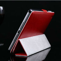 2013 best price new product leather case for ipad mini stand flip leather case