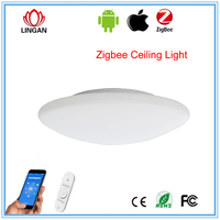 RGB Smart lamps ZigBee/SmartRoom solution maker APP Controled RGB color changing ceiling lamp