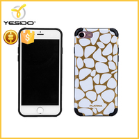 Soft TPU Transparent Logo Customize Clear Silicone TPU Printing Phone Cases for iPhone 7 4.7inch