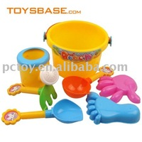 Kids beach sand toys plastic sand play set