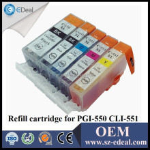 PGI-550 CLI-551 ink cartridges for Canon PIXMA IP7250 MG5450 MX725 MX925 MG6350 printer