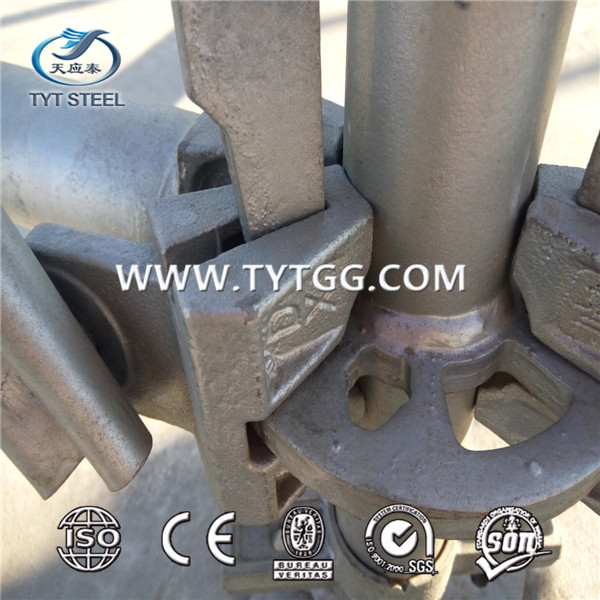 ringlock scaffoldings/upright pipe/cross-bar