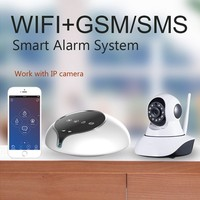 Nice Design WIFI/GSM/SMS self defense GSM Alarm System!Home security system & home automation GSM alarm system Smart home