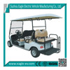 6 seats electric golf car, 2 rear foldable seat, EG2048KSZ