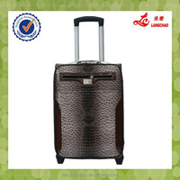 Durable Animal Ostrich Point High Quality Metal Handle 210D Lining Trolley Case