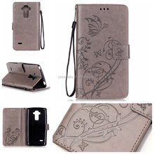 colorful Pattern TPU Leather Phone Cases for LG Stylus 2 LS775 magnetic Book Cover for LG G5 With Card Slot