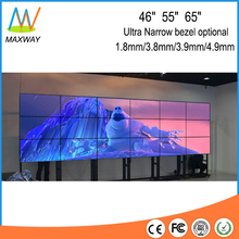 55 inch Ultra Narrow Bezel 6X3 floor stand lcd video wall