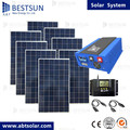 complete solar power system BFS-2kw system with battery and brackets 2000w solar generator system