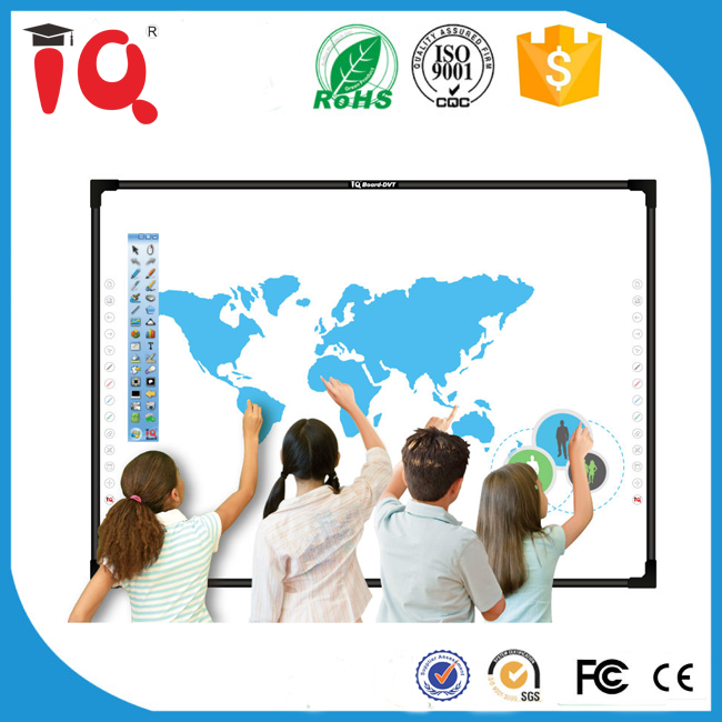 School Education digital touch screen interactive whiteboard