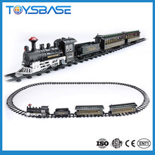 ALIBABA CHINA Christmas Toy 1:87 Large Classic Track Set Electric Ho Scale Model Train