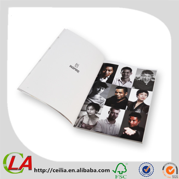 Perfect Binding Good Quality Glossy Art Paper Book