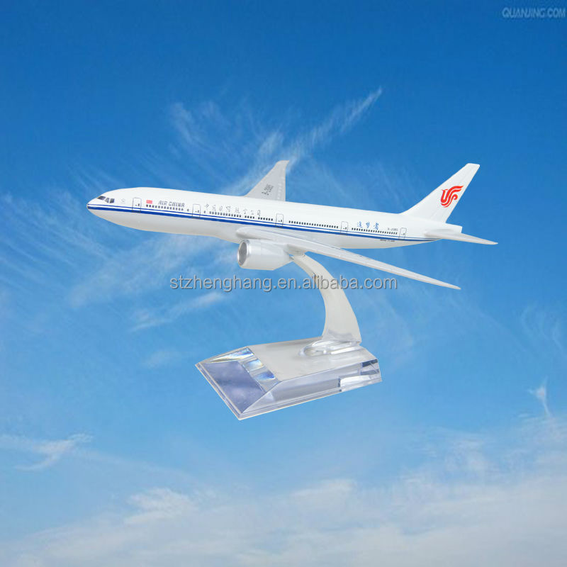 scale model,aircraft model,decoration,B777-200 plane model