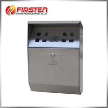 Wholesale ashtray stainless steel wall mounted outdoor ashtray