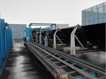 Movable portable Belt Conveyors for Salt, Sugar, Sand, Cement, Fertilizer