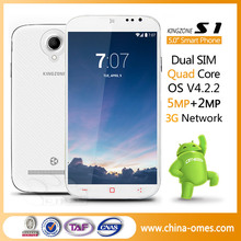 Wholesale Best Selling 5'' MTK 6582 Quad Core Android 4.2 WCDMA Mobile Phone
