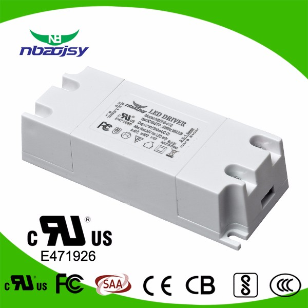 5W 7W 150ma 300ma 350ma UL FCC CB Approved LED Driver 5 Years Warranty For Indoor
