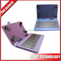 Tablet keyboard case for 10.2 tablet pc leather case with keyboard