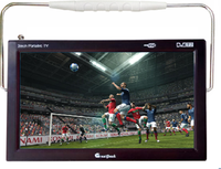 High Definition Mini TV with DVD and built-in DVB-T2 TV tuner with flat screen USB SD FM