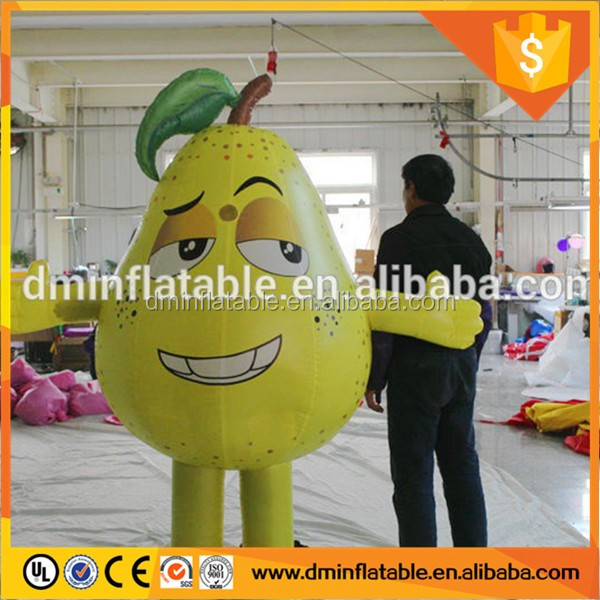 Giant customized design Inflatable pear / inflatable fruit models for sale