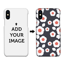 Matt custom 3D printing design 3d sublimation blank PC cell phone case for iphone X