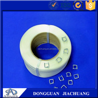 High tension PET strap polyester strapping tape used clothes packing band