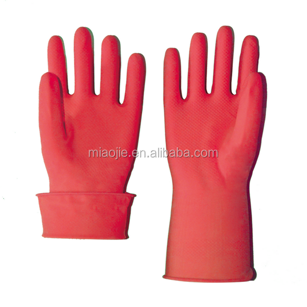 cleaning latex household unlined glove