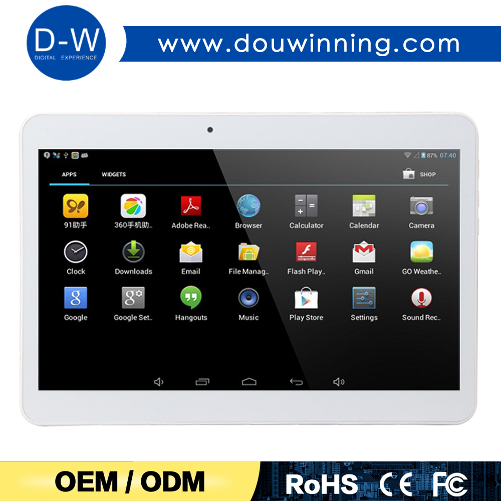 Factory lowest price MTK6572 3G phone call-touch smart tablet pc