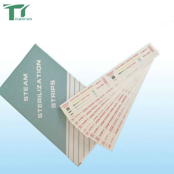 Medical laboratory test Class 4 EO sterilization chemical Autoclave test Indicator Strip