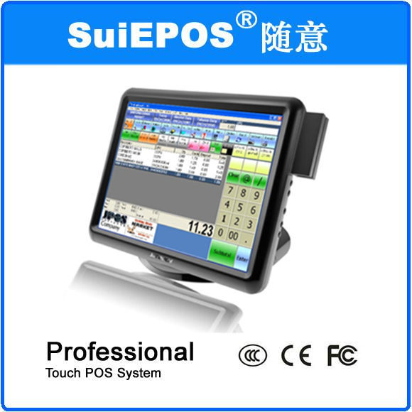 Pos system cash register all in one touch screen pos computer