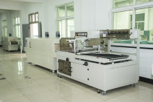 High speed PE film shrink tunnel packaging machine