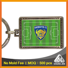 Quality Products Printed Soccer Football Keyrings for Company Giveaways