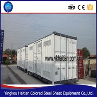 Prefabricated 20ft container house office in china,living luxury containers house20ft container house