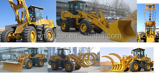 2018 China small mini wheel loader with Weichai engine for sale