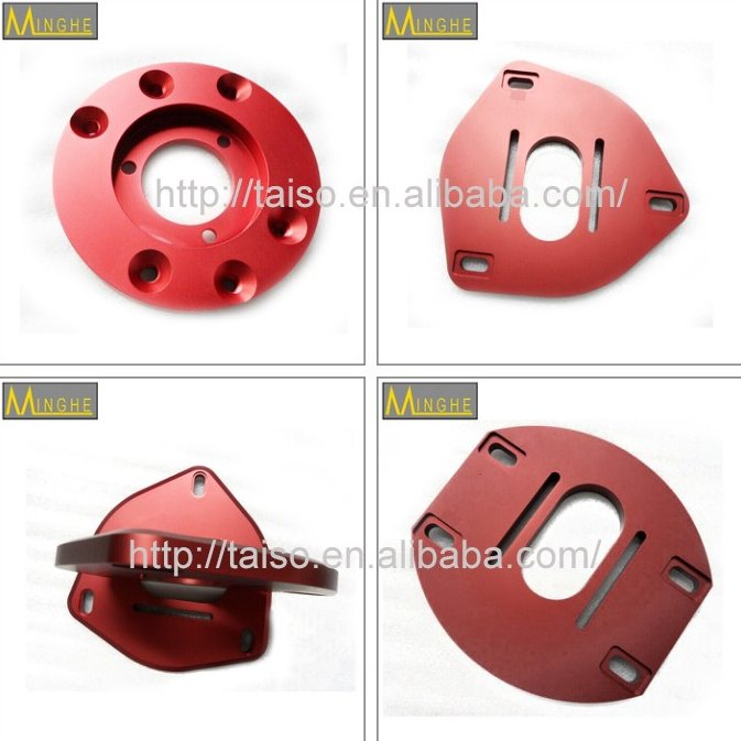 China supplier custom cnc turning / milling part motorcycle spare parts
