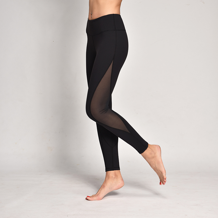 Sexy mesh workout pants running tight leggings for <strong>women</strong>