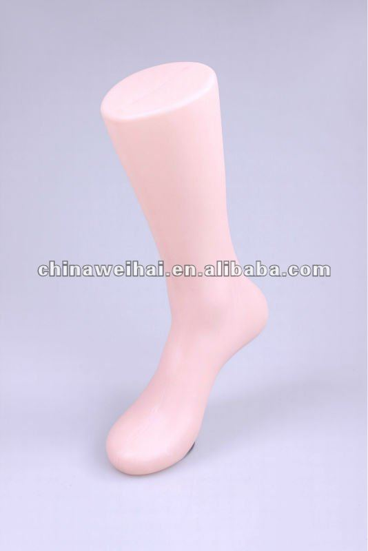 plastic male mannequin foot for sale