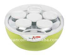 Green electric yoghurt making machine,yogurt maker,yogurt maker with 6 cups