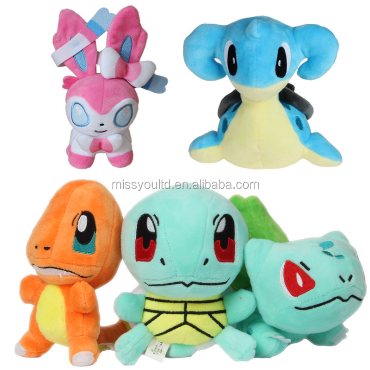 Cheap wholesale Pokemon stuffed plush toy gift for children