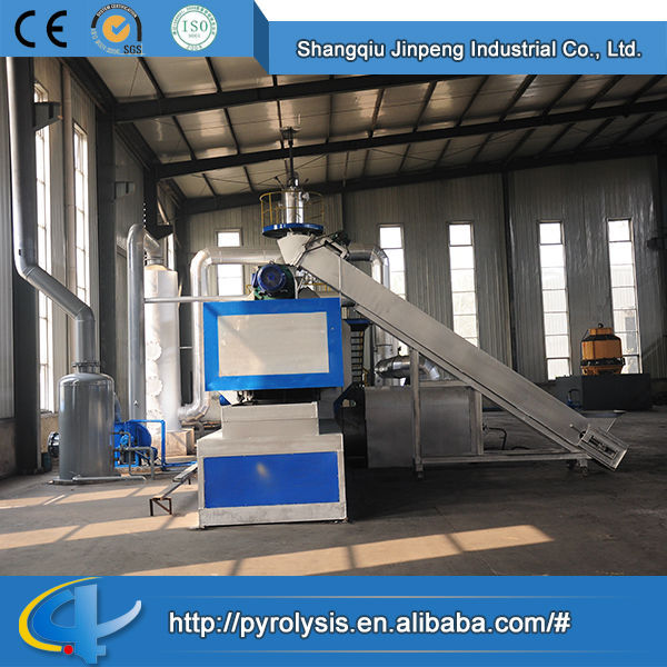 2014 High quality wholesale fashion Continuous old tyres rubber recycling pyrolysis machine