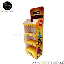 Advertising Creative Promotional Store Carton Corrugated Cardboard Floor Stand Display