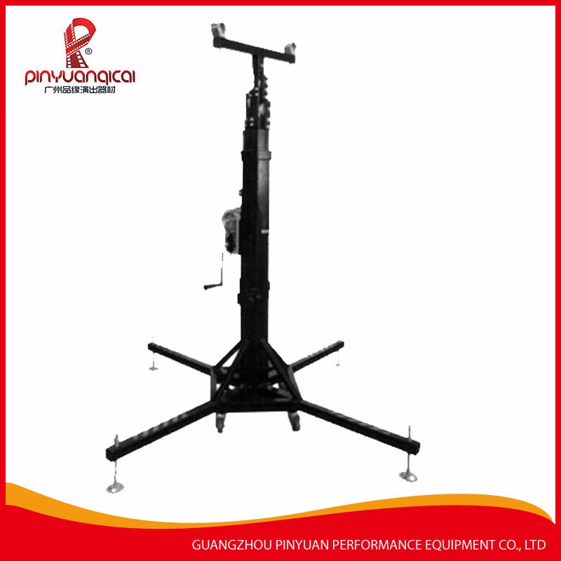 simple lighting Tower used mobile lighting truss adjustable 5M height