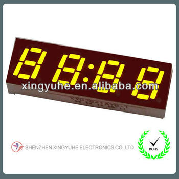 "0.28"" 4 digit digital led display"