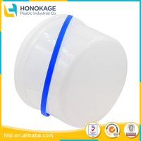 Round Plastic Container Eco Friendly Packaging Box, Pet Food Storage Container