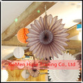 whoelsale Honeycomb Tissue Paper Fan Hanging Decorative Flower Party Wedding Decoration