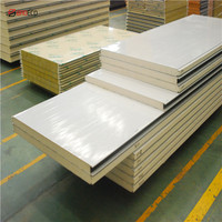 High density insulated polyurethane build walk in cooler panel