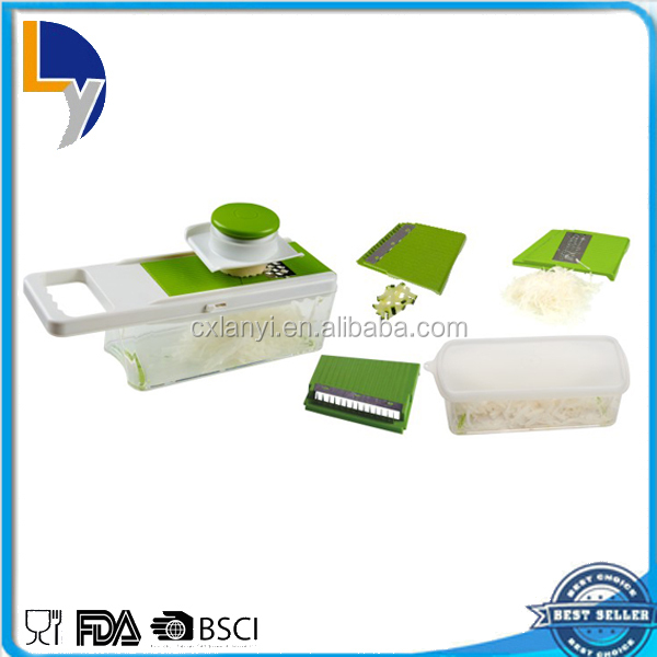 Professional Kitchen Tool OEM Food Grade Plastic Carrot Slicer