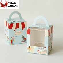 Cheap paper board cupcake delivery box for sale