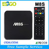Original M8S google hd sex porn video tv box Amlogic S812 2g 8g xbmc 14.0 5ghz WiFi 4K Google Smart Tv Box