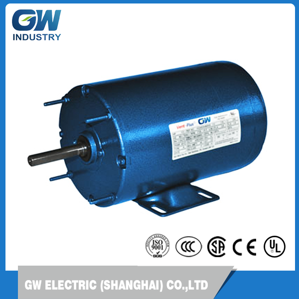 NEMA High performance Controllable velocity 1-phase ac fan motor